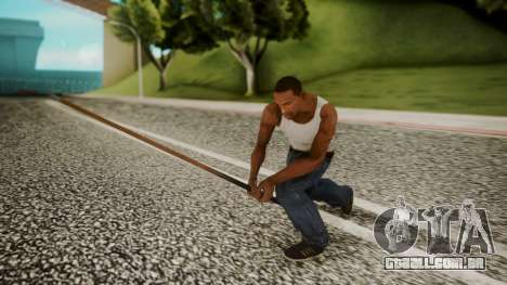 Pool Cue HD para GTA San Andreas terceira tela