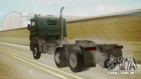Scania P420 para GTA San Andreas esquerda vista