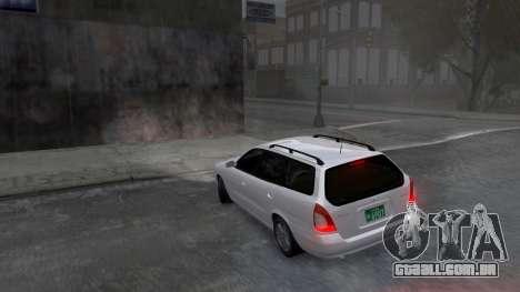 Daewoo Nubira I Spagon 1.8 DOHC 1998 para GTA 4 vista inferior