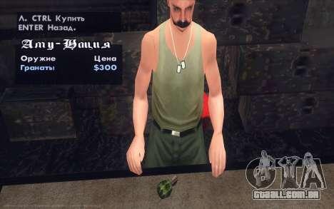 Realistic Weapons Pack para GTA San Andreas sétima tela