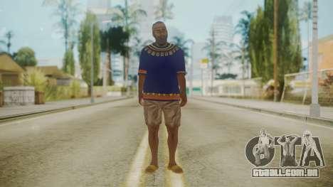 Sbmocd HD para GTA San Andreas segunda tela