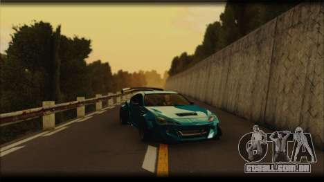 Toyota GT86 Customs Rocket Bunny para GTA San Andreas vista direita