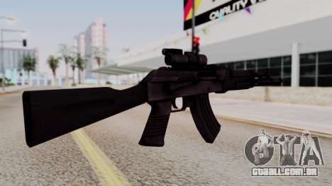 AK-103 from Special Force 2 para GTA San Andreas segunda tela