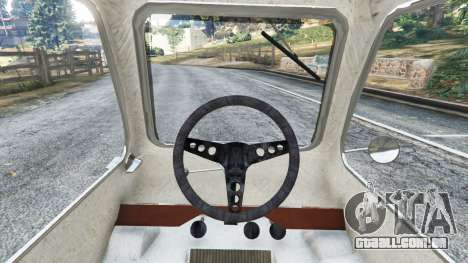 GTA 5 Peel P50 vista lateral direita