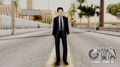 Agent Mulder (X-Files) para GTA San Andreas segunda tela