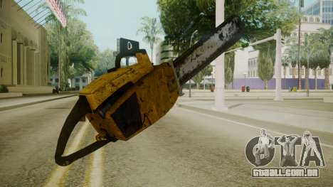 Atmosphere Chainsaw v4.3 para GTA San Andreas segunda tela