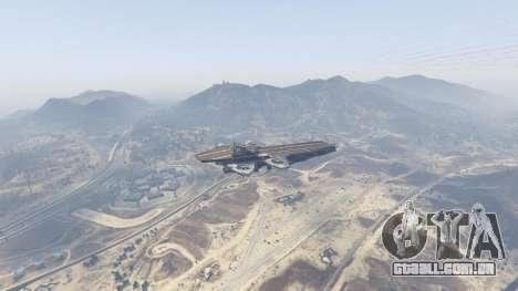 GTA 5 S.H.I.E.L.D. Helicarrier terceiro screenshot