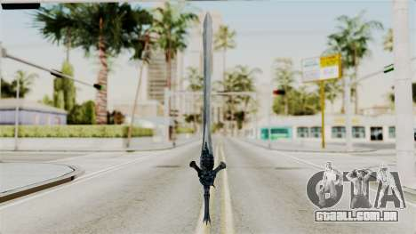 Katana from RE6 para GTA San Andreas segunda tela