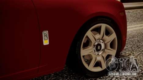 Rolls-Royce Ghost v1 para GTA San Andreas vista superior