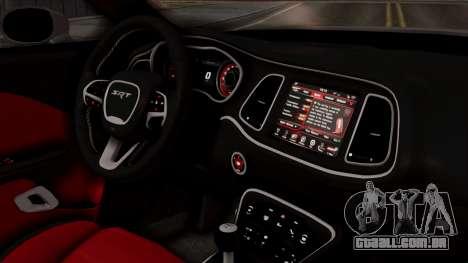 Dodge Challenger SRT Hellcat 2015 HQLM PJ para GTA San Andreas vista direita