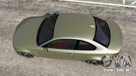 BMW 1M v1.2 para GTA 5