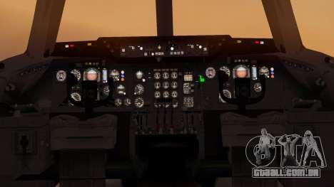 DC-10-10 Western Airlines para GTA San Andreas vista traseira