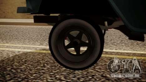Chevrolet Bel Air Gasser para GTA San Andreas traseira esquerda vista
