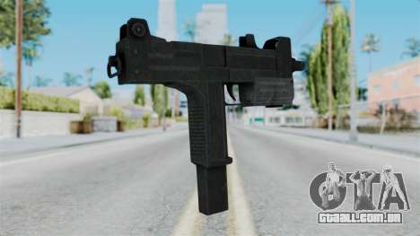 Misro SMG from RE6 para GTA San Andreas segunda tela