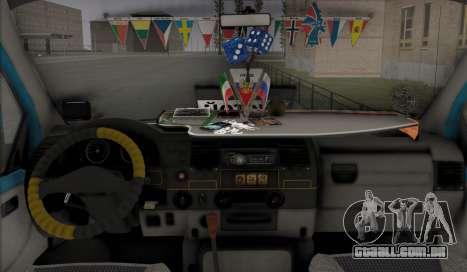 Gazela 33023 Agricultor para GTA San Andreas vista interior