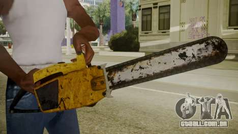 Atmosphere Chainsaw v4.3 para GTA San Andreas terceira tela