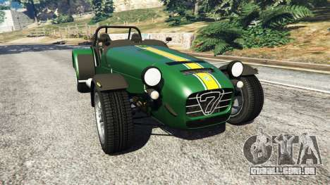 Caterham Super Seven 620R v1.5 [green] para GTA 5