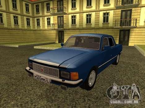 GAZ 3102 Volga para GTA San Andreas