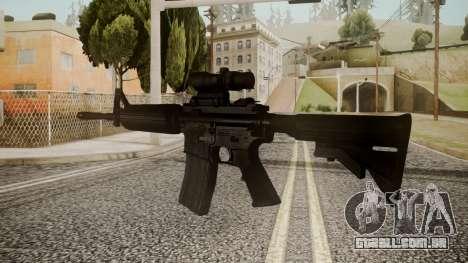 M4 by catfromnesbox para GTA San Andreas segunda tela