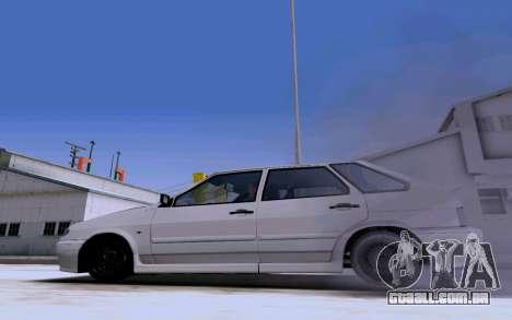 2114 Turbo para vista lateral GTA San Andreas
