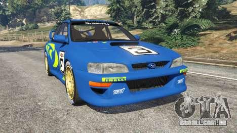 Subaru Impreza WRC 1998 para GTA 5