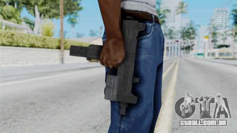 Misro SMG from RE6 para GTA San Andreas terceira tela