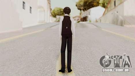 Kaneki Anteiku (Tokyo Ghoul) para GTA San Andreas terceira tela