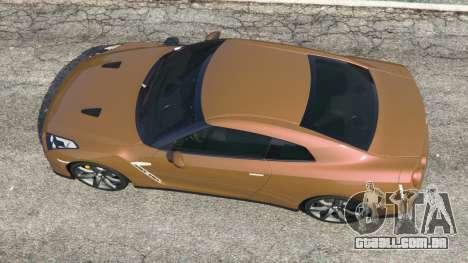 GTA 5 Nissan GT-R (R35) voltar vista