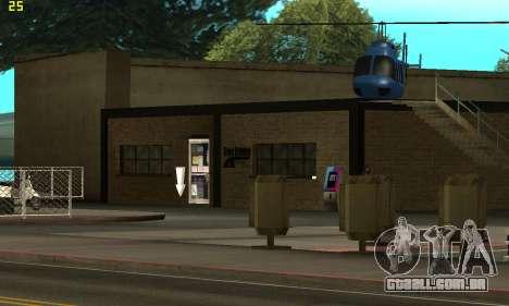 Substituição de texturas para a escola de Conduç para GTA San Andreas terceira tela
