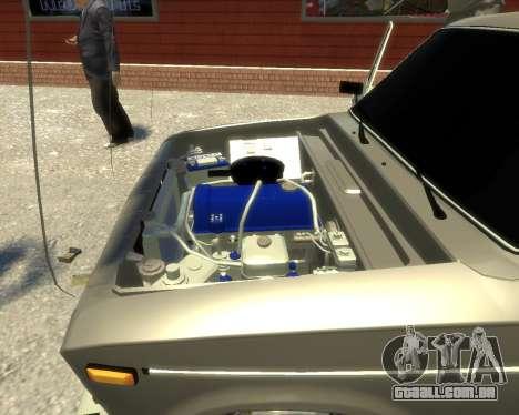 Ваз 2106 Kavkaz Estilo para GTA 4 vista de volta
