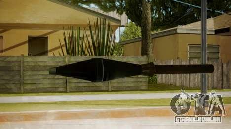 Atmosphere Missile v4.3 para GTA San Andreas segunda tela