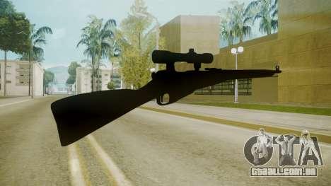 Atmosphere Sniper Rifle v4.3 para GTA San Andreas segunda tela
