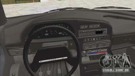 VAZ 2115 Escoamento para GTA San Andreas vista traseira