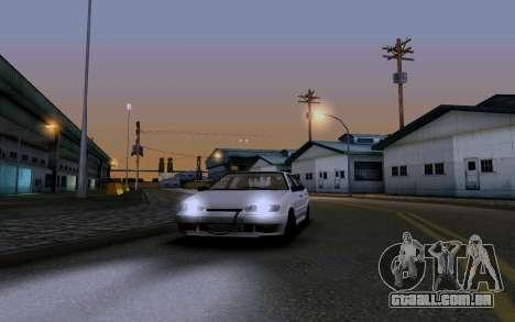 2114 Turbo para GTA San Andreas interior