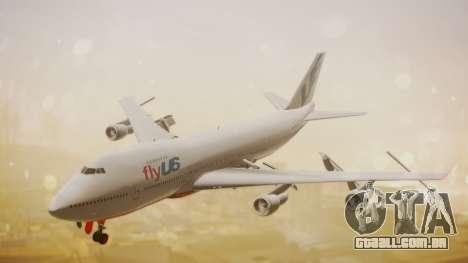Boeing 747-200 Fly US para GTA San Andreas