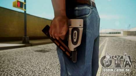 Nail Gun from Resident Evil Outbreak Files para GTA San Andreas terceira tela