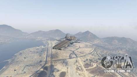 GTA 5 S.H.I.E.L.D. Helicarrier segundo screenshot
