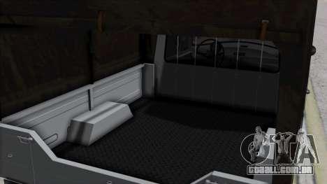 Syrena R20 v1.0 para GTA San Andreas vista traseira
