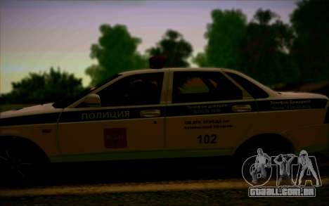 VAZ 2170 Priora DPS para GTA San Andreas vista interior