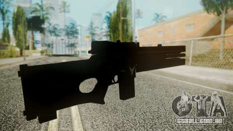 VXA-RG105 Railgun with Stripes para GTA San Andreas terceira tela