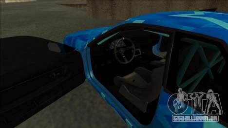 Nissan Skyline R32 Drift Blue Star para GTA San Andreas vista direita