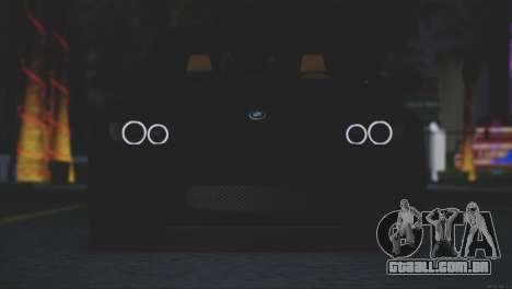 BMW M3 E92 2008 para GTA San Andreas vista interior