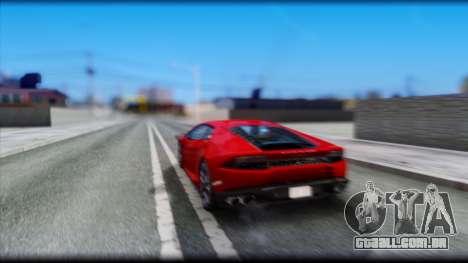 KISEKI V4 para GTA San Andreas quinto tela