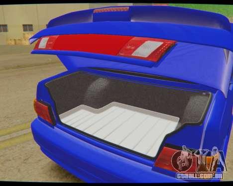 VAZ 2115 Escoamento para GTA San Andreas traseira esquerda vista