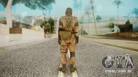 Venom Snake Golden Tiger para GTA San Andreas terceira tela