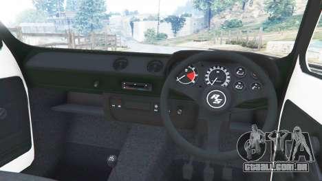 Ford Escort MK1 v1.1 [10] para GTA 5