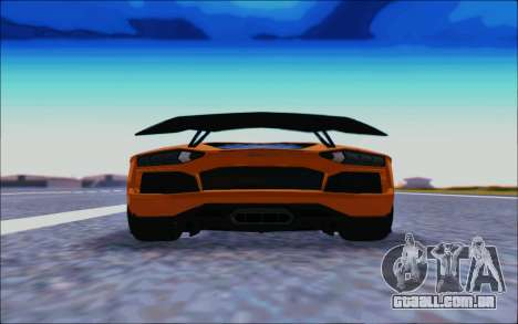 Lamborghini Aventador MV.1 [IVF] para GTA San Andreas vista direita