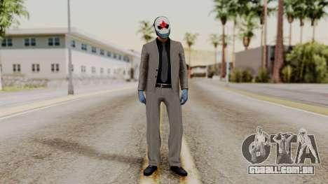 Payday 2 Sokol para GTA San Andreas segunda tela