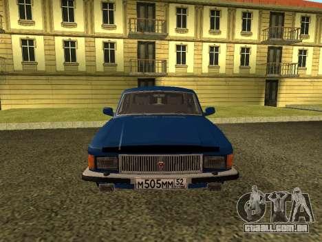 GAZ 3102 Volga para GTA San Andreas vista direita