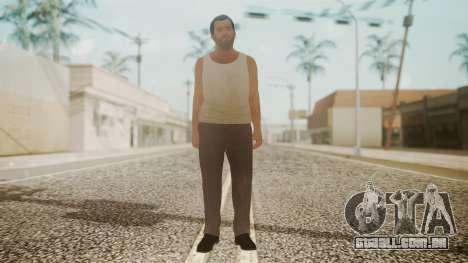 GTA 5 Michael De Santa Exiled para GTA San Andreas segunda tela